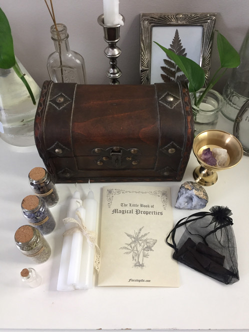 A witch's treasure chest
