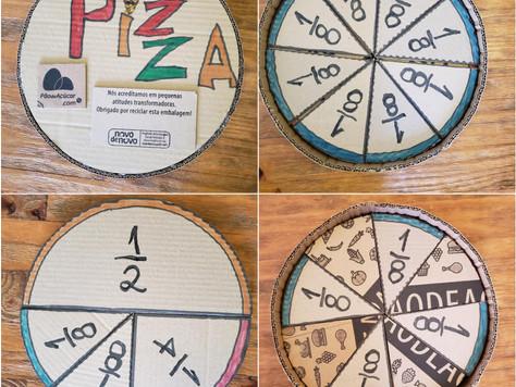 Seu filho já te perguntou como dividir uma pizza em 5 pedaços?