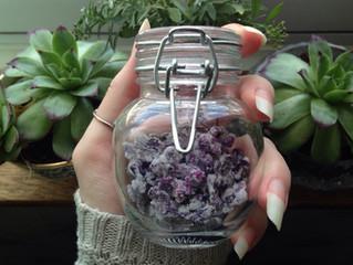 Vegan candied lilacs ✨