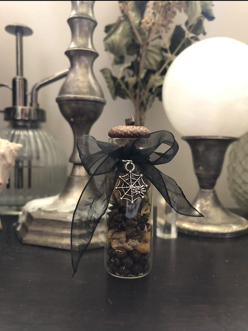 Autumnal protection spell bottles