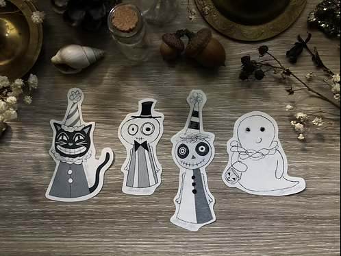Stickers (trick or treaters) *shipping included*