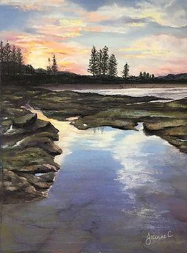 Moffat-Rocks-by-Jeanne-Cotter-LR.jpg Water, rocks and morning sky