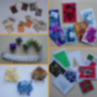 paper jewellery and cards