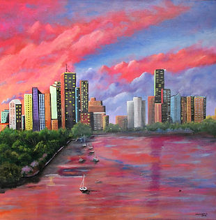 Linda Mezetti Brisbane Sunset.jpg
