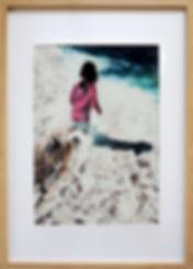 Benseman_Christine_ Wading in the sea (1