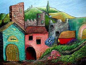 Linda Mezetti Landscape with houses.jpg