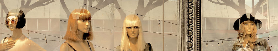 Chris Jannides 'mannequins with antlers'.jpg 4 mannequins heads with tree shadows looking like antlers.