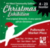 advertisement for  christmas function