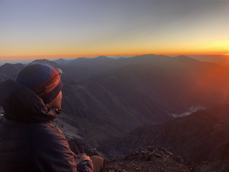 Getting frostbite on Toubkal, and paying £30 for a bag of nuts. One of those things happened