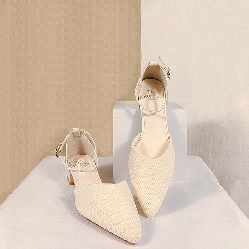 Karol Knit -Butter White