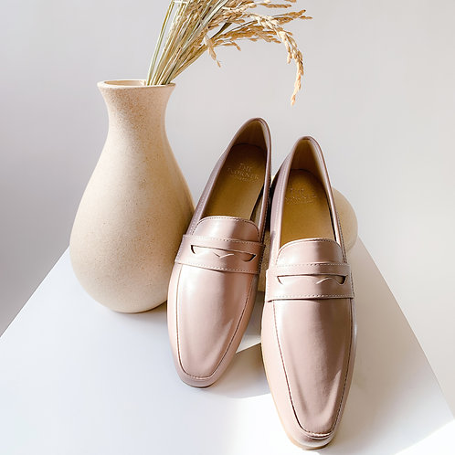 Kenni II Loafers Leather Dusty Pink
