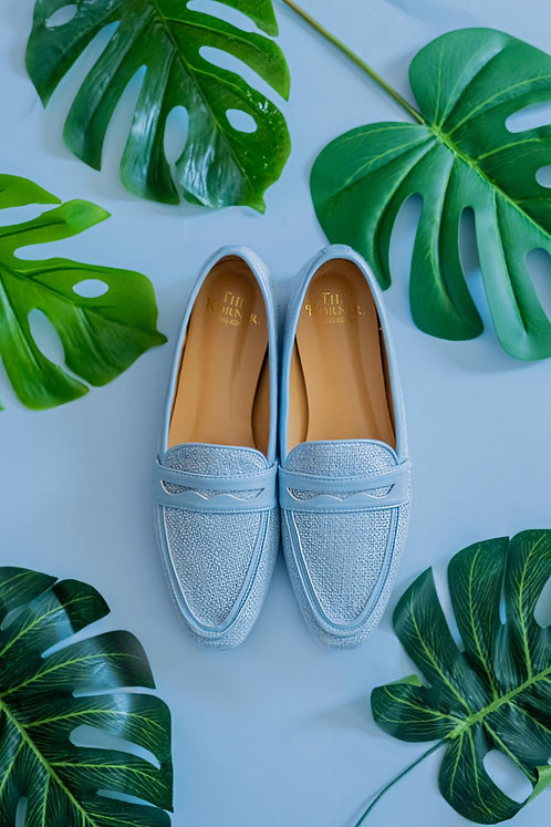 Kenni Loafers Light Blue
