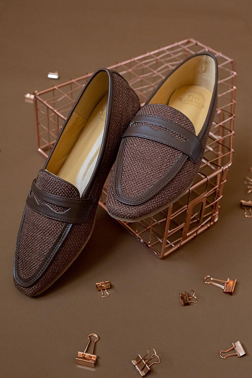 Kenni Loafers Brown