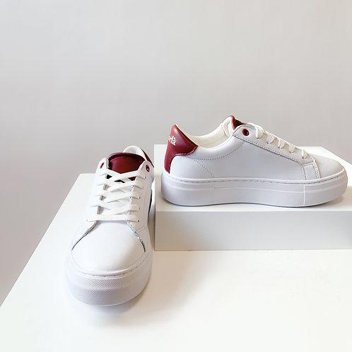 Korlà Sneaker - White W/RED