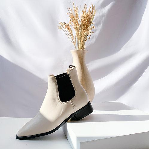 Karl Chelsea boot White