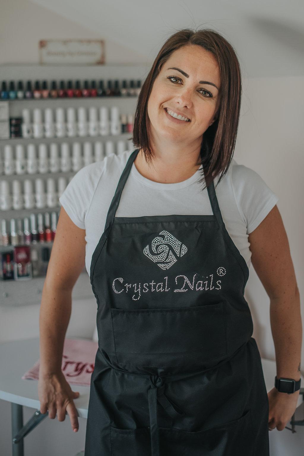 Gemma Crystal Nails