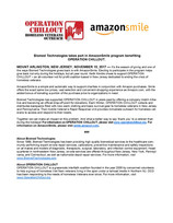 Operation Chillout and Amazon Smile