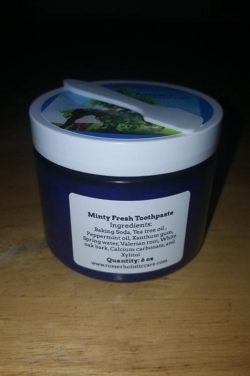 Minty Fresh Toothpaste