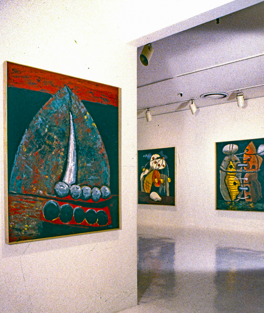 1989INSTALLATION 1989 RUTH SIEGEL NYC 1
