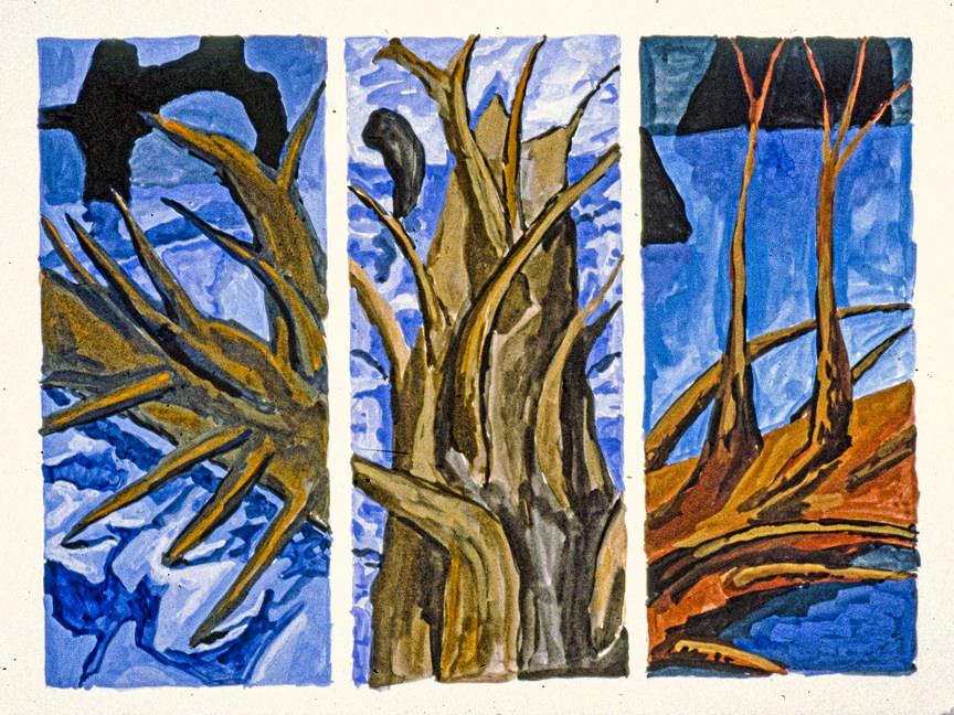 trilogy 3 1984 18x24 casein on paper (2)