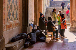 music under the hall
