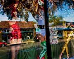red dress green stripes-77