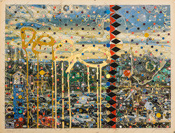 landscape Oakland trilogy 3  29 x 38