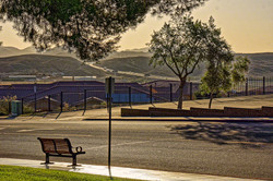 Bench in Barstow