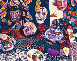 1995-96DAY OF THE DEAD 1996 40X50