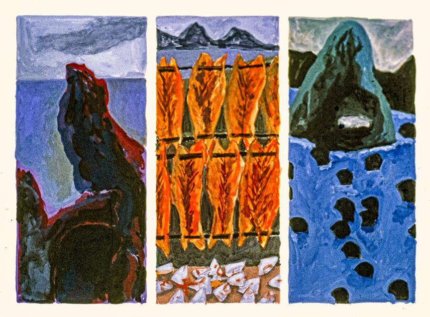 trilogy 6 1984 18x24 casein on paper (2)