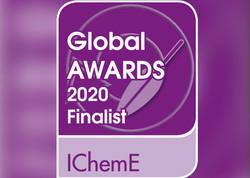 Finalist in IChemE Global Awards 2020