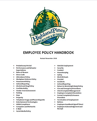 Employee & HR Policies