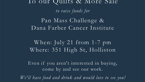 Quilts & More Sale for Cancer Research!