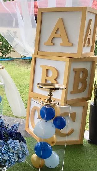 ABC Gold Blocks
