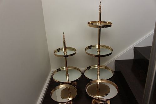 Gold Mirror Stands