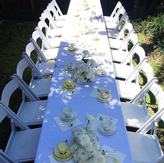 White Gladiator Chairs