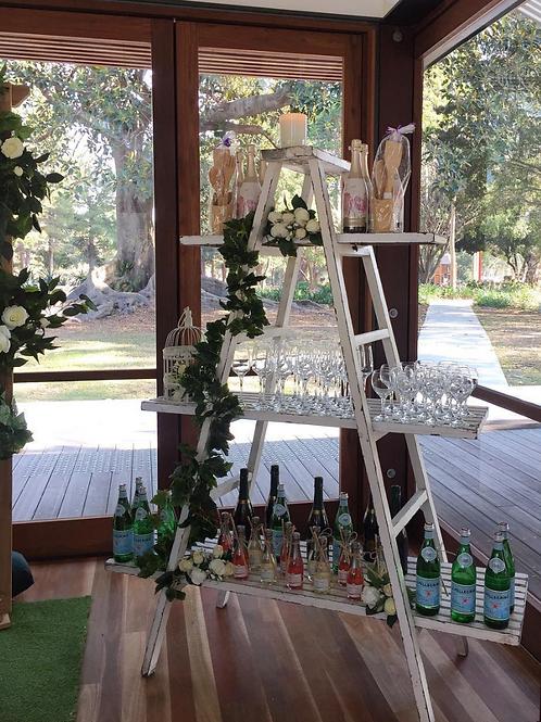 White Display Ladder
