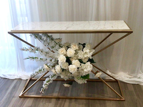 Marble Cleo Console