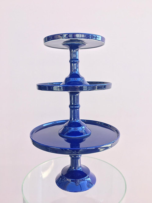 Navy Blue Cake Stands