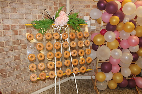 Clear Donut Wall