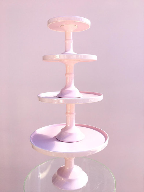 Pastel Pink Cake Stands