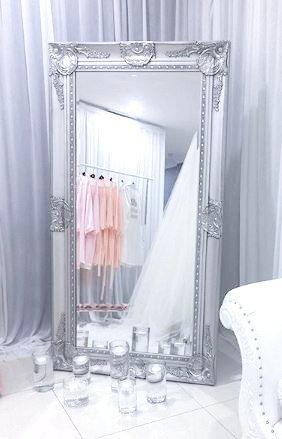 XL Silver Mirror