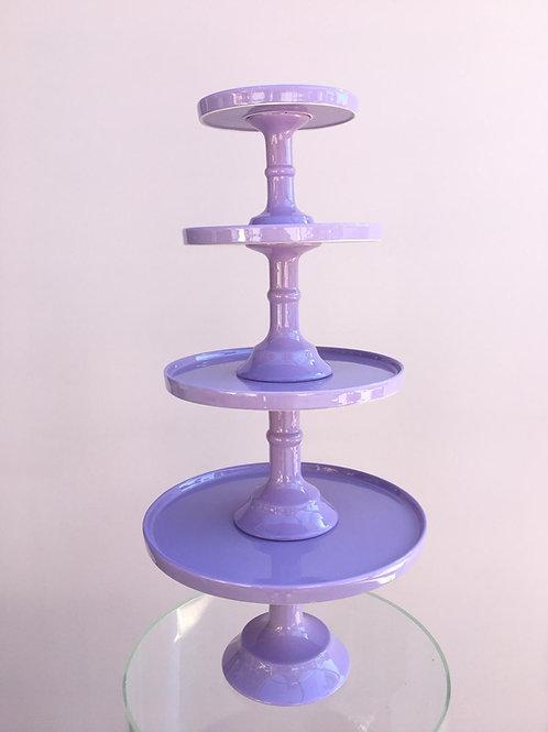 Pastel Purple Cake Stands