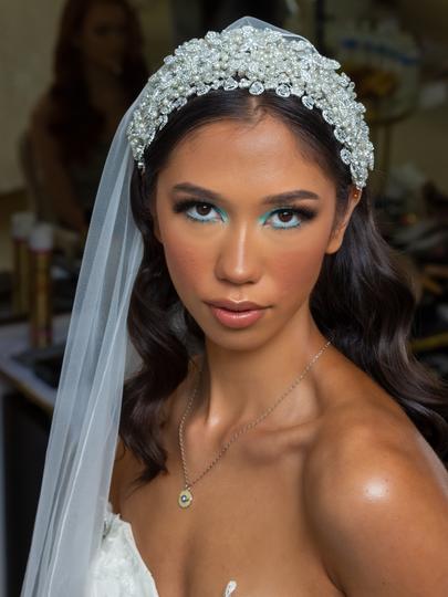 Princess of Pearls Bridal Headpiece_this