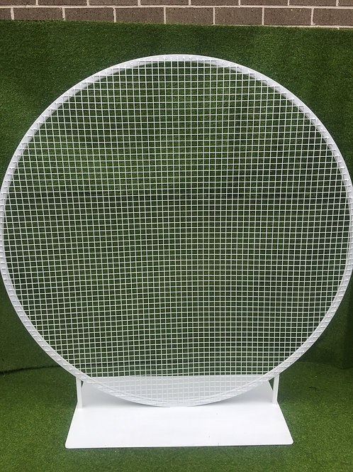 Mini White Mesh Wall