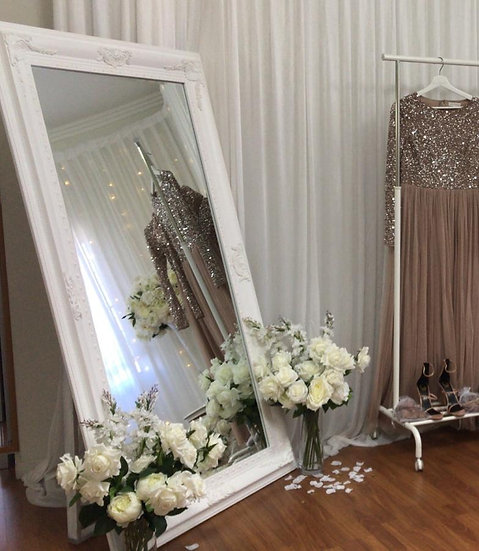 XL White Mirror