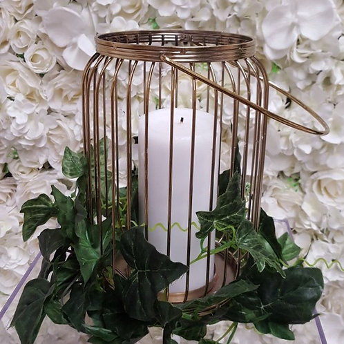 Caged Candle Holder
