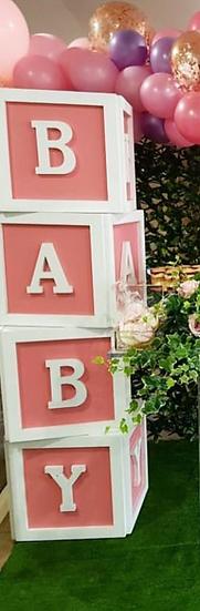 Pink BABY Blocks