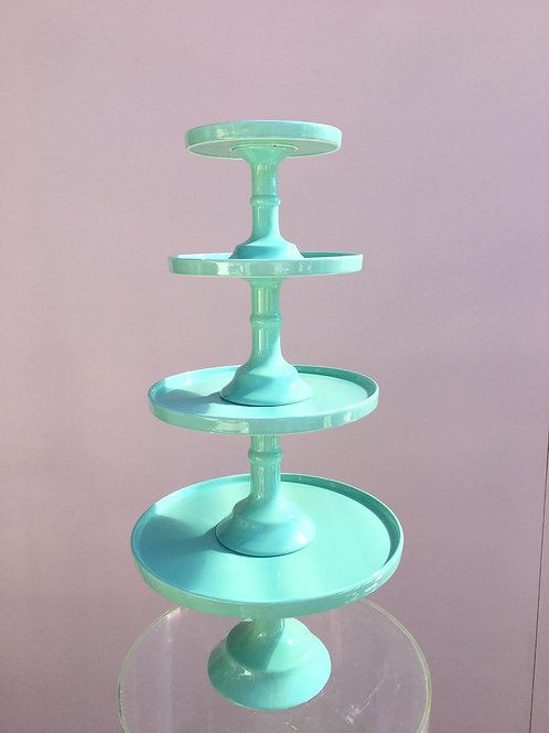 Mint Green Cake Stands