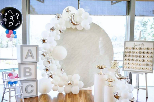 Round Marble Wall
